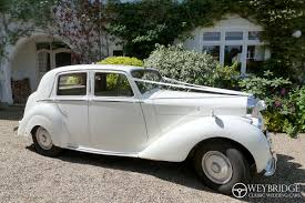 old bentley convertible wedding car hire in surrey weybridge classic wedding cars