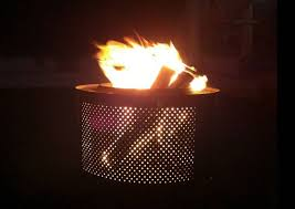 Making Fire Pit From Washer Tub - 5 new uses for a broken washing machine video treehugger