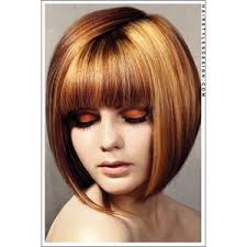 copper and brown sort hair styles short hairstyles sexy two toned copper bob haircut polyvore