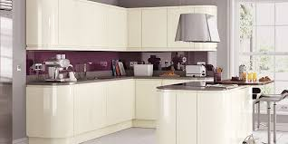 High Gloss Kitchen Cabinets White  Grey On Trend Kitchen Collection - White gloss kitchen cabinets