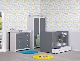 chambre bébé blanche pas cher gris chambre bebe