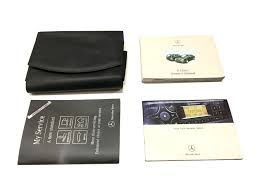 mercedes benz e class owners manual service booklet wallet ref 2