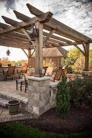 Pergola Backyard Ideas by Exterior 24 Cool Designs Of Pergola Roof For Patio Ideas