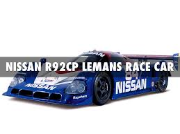 nissan race car lemans race car and race vehicle