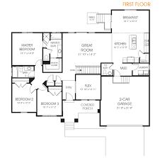 hadley rambler floor plan utah edge homes