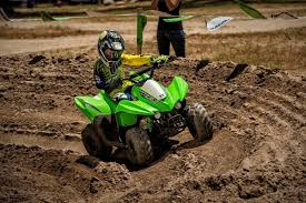 2016 kawasaki kfx 50 50cc four wheeler u003d youth atv youtube