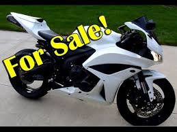 cbr600rr for sale for sale 2008 honda cbr600rr pearl white youtube