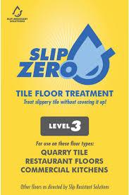 non slip tile treatment for commercial kitchen floors