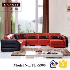 canapé d angle de qualité chine qualité fournisseur big lots meubles en cuir canapé d angle