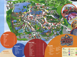 Six Flags New England Park Map Darien Lake Park Map Infolakes Co