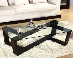 No Coffee Table Living Room Contemporary Living Room Coffee Tables Black Coffee Table Modern