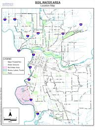 Map Of Sacramento Release City Issues Voluntary Water Boil Advisory City Of