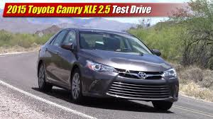 toyota camry 2019 test drive 2015 toyota camry xle testdriven tv