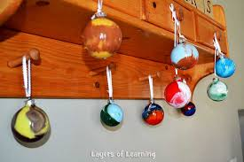 planet ornaments layers of learning