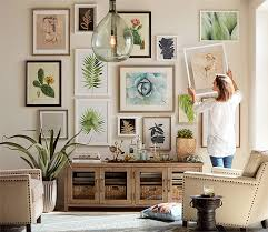 how to create a gallery wall pottery barn