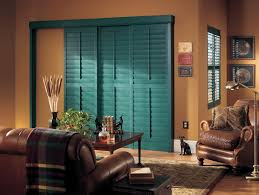 Bypass Shutters For Patio Doors Shutters For Sliding Glass Doors