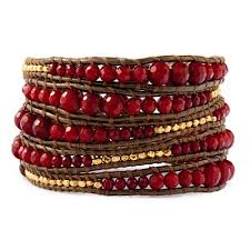 red wrap bracelet images Chan luu red coral graduated wrap bracelet jpg