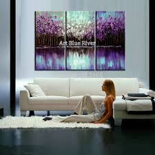 Living Room Art Paintings Aliexpress Com Buy 3 Piece Abstract Canvas Art Painting Triptych