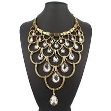 multi layer pendant necklace images Multi layer necklace waterfalls jpg