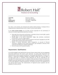 cover letter auditor internal job resume resume for study