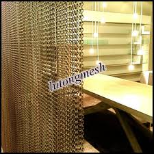 Chain Room Dividers - fashional aluminum chain link curtain for room divider