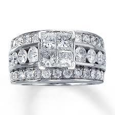 jareds wedding rings jared diamond engagement ring 3 1 2 ct tw diamonds 14k white gold
