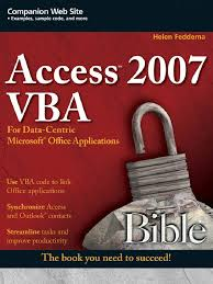 access 2007 vba bible may 2007 microsoft outlook microsoft excel