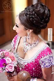south asian indian bridal reception hair makeup pink lengha more inspiration