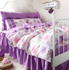 girls princess bedding high quality purple comforter set full promotion shop for high