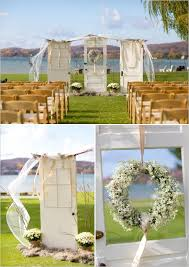 wedding backdrop doors funky finds turned into surprising centerpieces backdrops