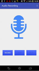 record audio android android voice recording application exle