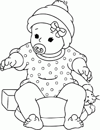 baby animal christmas coloring pages coloring home