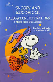 snoopy and woodstock halloween wall decorations snoopn4pnuts com