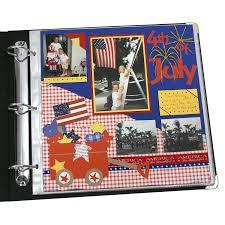 12x12 scrapbook c line memory book 12 x 12 inch scrapbook page