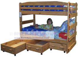 Plans For Bunk Beds Twin Over Full by Full Over Full Bunk Bed Plans Bed Plans Diy U0026 Blueprints