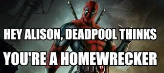 Deadpool Funny Memes - meme maker thumbs up deadpool generator
