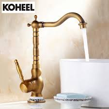 new faucet bronze brass material 360 degree antique finished
