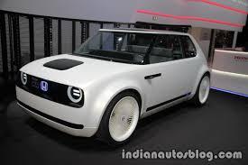 Honda Urban Honda Urban Ev Concept Front Three Quarters At Iaa 2017 Indian
