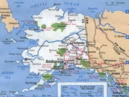 Alaska Map Us by Maps Akgenweb Project