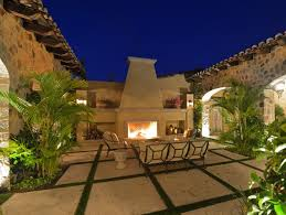 Homes With Courtyards by Spectacular Ocean View Estate In The Baja Peninsula Idesignarch