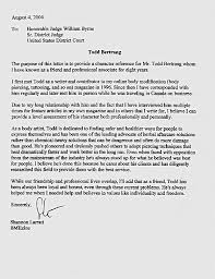 character letter for judge u2013 informatin for letter pertaining to