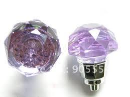purple glass door knobs 10pcs design fashion k9 black crystal glass chrome cabinet knobs