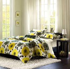 gray and yellow bedroom pinterest soft brown table lamp on bedside