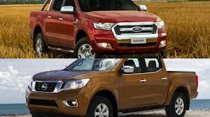 nissan ranger frenteafrente nissan np300 frontier vs ford ranger dos pickups