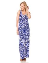 a pea in the pod spaghetti strap lace maternity maxi dress 148