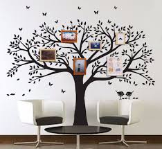 compare prices on tree wall mural stencil online shopping buy low large family tree wall decal peel stick easy to apply decor mural for home bedroom stencil decoration diy photo gallery frame