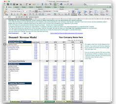 business plan financial model template bizplanbuilder sample pdf