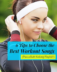 Hit The Floor Playlist - how to choose the best workout songs fitness magazine