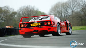 f50 top gear the royal blood line f40 f50 288 gto and enzo