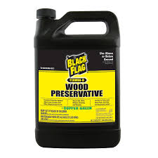Green Yellow And Black Flag Shop Black Flag Gallon Non Pressure Treated Wood Sealant At Lowes Com